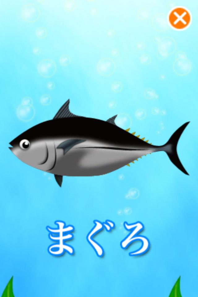 お寿司図鑑 マグロ画面